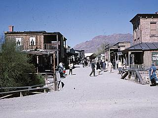 Westernstadt in den Old Tucson Studios. © RichardBH